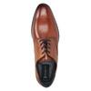 Ležérní kožené polobotky bugatti, hnědá, 826-3008 - 15
