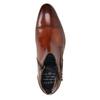 Kožená kotníčková obuv s přezkou bugatti, hnědá, 816-3043 - 15