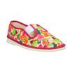 Dívčí domácí obuv se vzorem bata, růžová, 279-5122 - 13