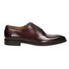 Pánské kožené Oxford polobotky bata, červená, 826-5683 - 15