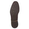 Hnědé kožené polobotky pánské bata, hnědá, 826-4681 - 19