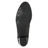 Kožené lodičky na nízkém podpatku gabor, černá, 626-6116 - 19