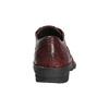 Dámské kožené polobotky bata, červená, 526-5640 - 17