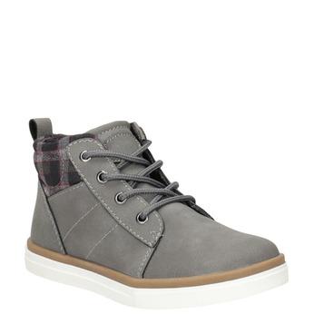 Dětská kotníčková obuv mini-b, šedá, 291-2172 - 13