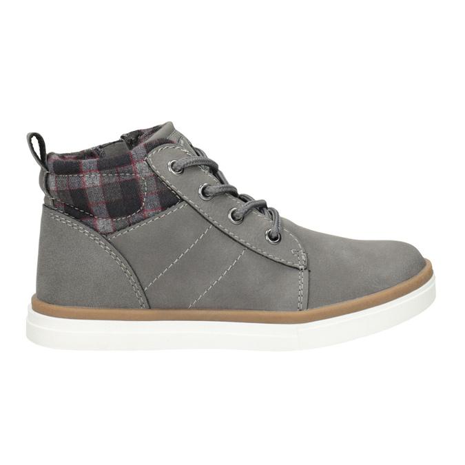 Dětská kotníčková obuv mini-b, šedá, 291-2172 - 26