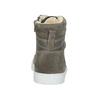 Dětská kotníčková obuv kožená bullboxer, šedá, 494-8023 - 16