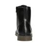 Šněrovací dětská obuv mini-b, černá, 391-6407 - 16
