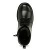 Šněrovací dětská obuv mini-b, černá, 391-6407 - 17
