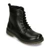 Šněrovací dětská obuv mini-b, černá, 391-6407 - 13