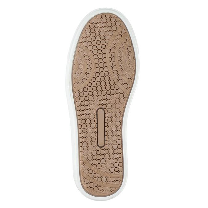 Dětská kotníčková obuv kožená bullboxer, hnědá, 494-4023 - 17