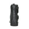 Kožená kotníčková obuv dětská bullboxer, černá, modrá, 496-9015 - 16