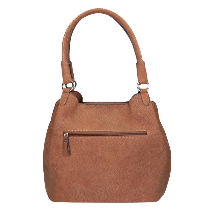 Hnědá dámská kabelka gabor-bags, hnědá, 961-3049 - 16