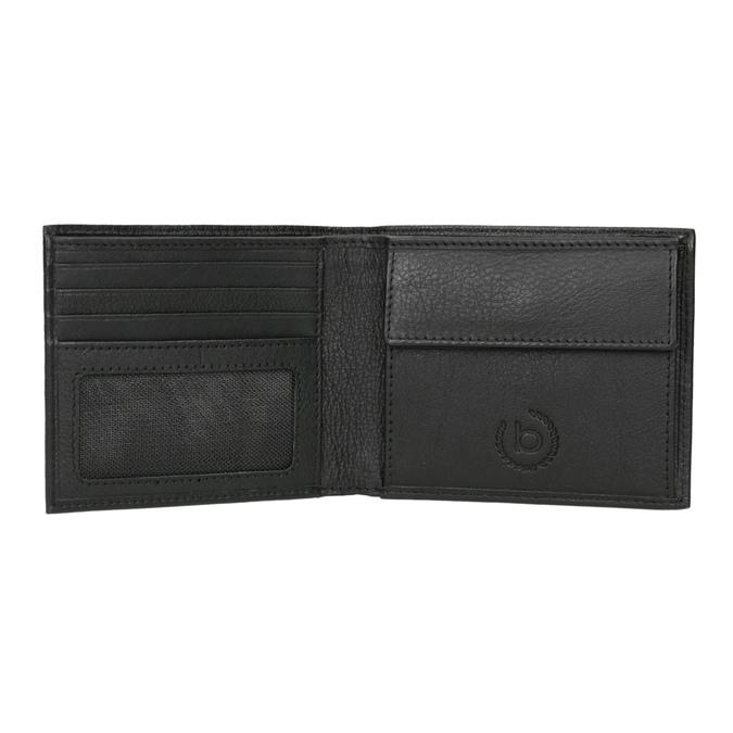Černá kožená peněženka bugatti-bags, černá, 944-6050 - 15