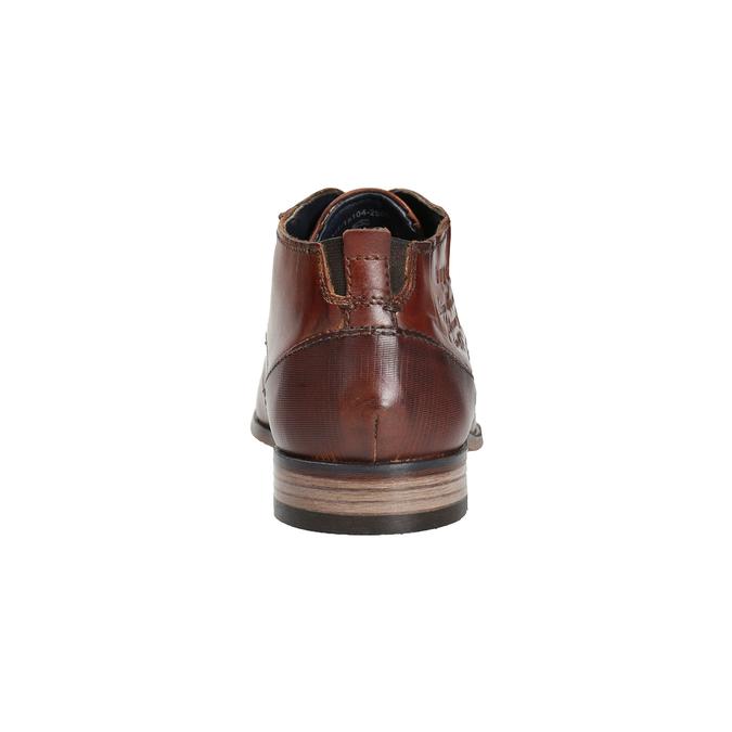 Pánské kožené polobotky bugatti, hnědá, 826-3004 - 16