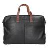 Kožená pánská aktovka bugatti-bags, černá, 964-6019 - 26