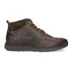 Pánská kožená kotníková obuv s prošitím bata, hnědá, 846-4645 - 19