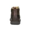 Pánská kožená kotníčková obuv s prošitím bata, hnědá, 846-4645 - 15