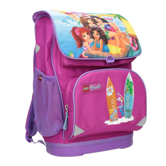 Školní aktovka s pevným dnem lego-bags, růžová, 969-5009 - 13