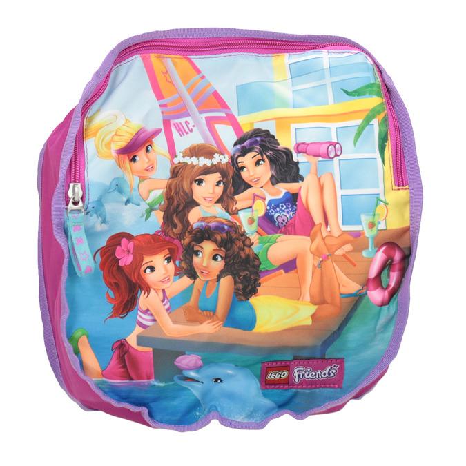 Růžový školní batoh lego-bags, růžová, 969-5020 - 19