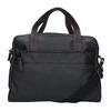 Pánská textilní taška bata, černá, 969-6131 - 16