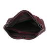 Kožená kabelka v Hobo stylu bata, červená, 964-5261 - 15