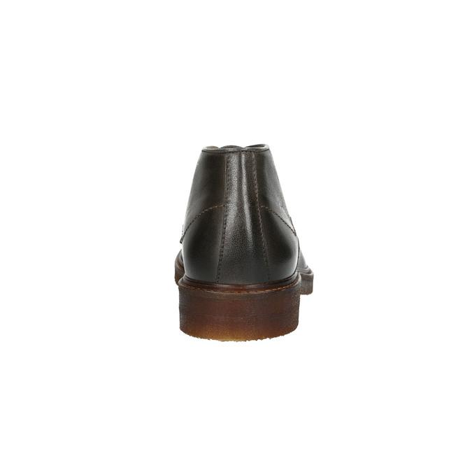 Kožené Chukka Boots bata, šedá, 826-3919 - 15