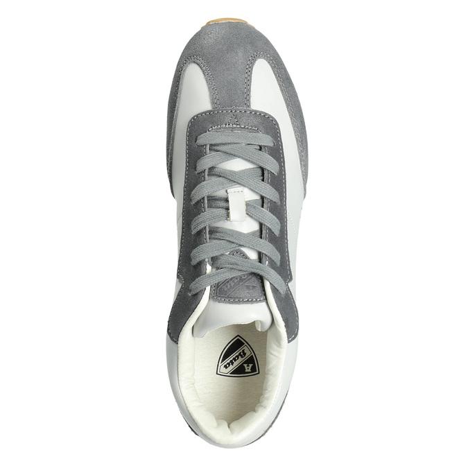Pánské ležérní tenisky, šedá, 801-2180 - 15
