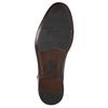 Modré kožené polobotky pánské bata, modrá, 826-9913 - 19