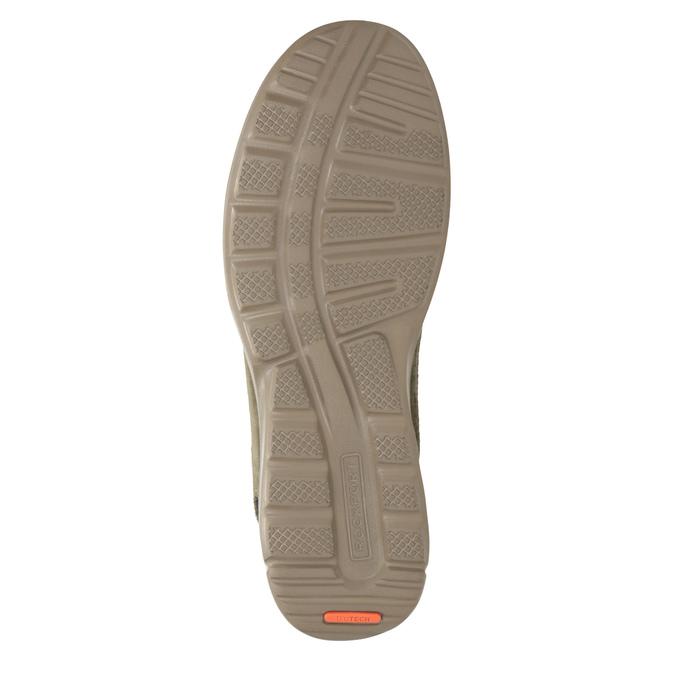 Ležérní tenisky z broušené kůže rockport, hnědá, 826-3021 - 17