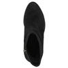 Kotníkové kozačky z kůže bata, černá, 693-6602 - 26
