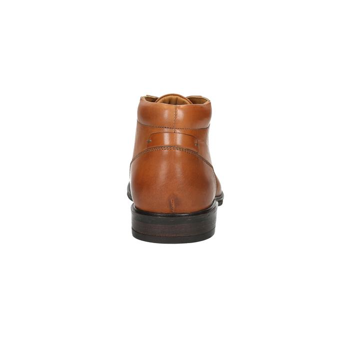 Pánská kožená Ombré obuv bata, hnědá, 826-3913 - 17