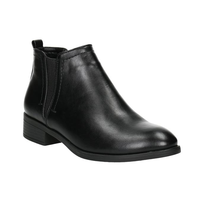 Kotníčková dámská obuv bata, černá, 591-6619 - 13
