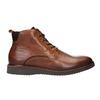 Kožená kotníčková obuv bata, hnědá, 896-3675 - 26