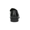 Kožené pánské Loafers bata, černá, 814-6623 - 17