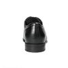 Černé kožené polobotky bata, černá, 824-6600 - 17