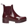 Kotníčkové dámské holínky bata, červená, 592-5400 - 26