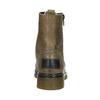 Kožená dámská kotníčková obuv bata, hnědá, 596-7681 - 16