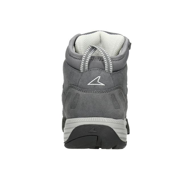 Kožená kotníčková obuv v Outdoor stylu power, šedá, 503-2232 - 16