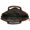 Kožená pánská taška s prošíváním bata, hnědá, 964-4139 - 15