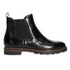 Kožená dámská Chelsea obuv bata, černá, 596-6657 - 15
