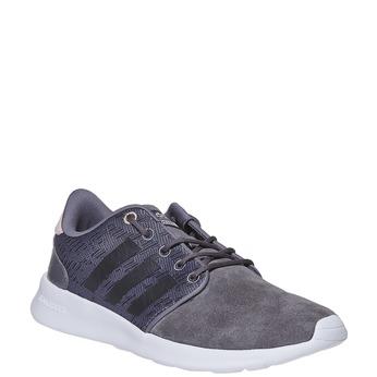Kožené dámské tenisky adidas, šedá, 503-2111 - 13