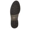 Pánské kožené polobotky bata, hnědá, 826-3916 - 19