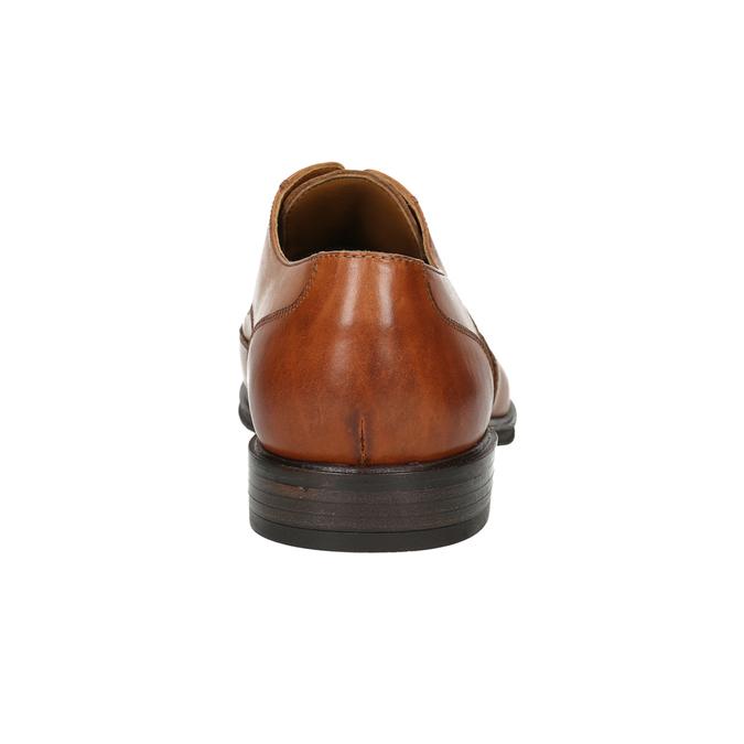 Kožené pánské Ombré polobotky bata, hnědá, 826-3914 - 17