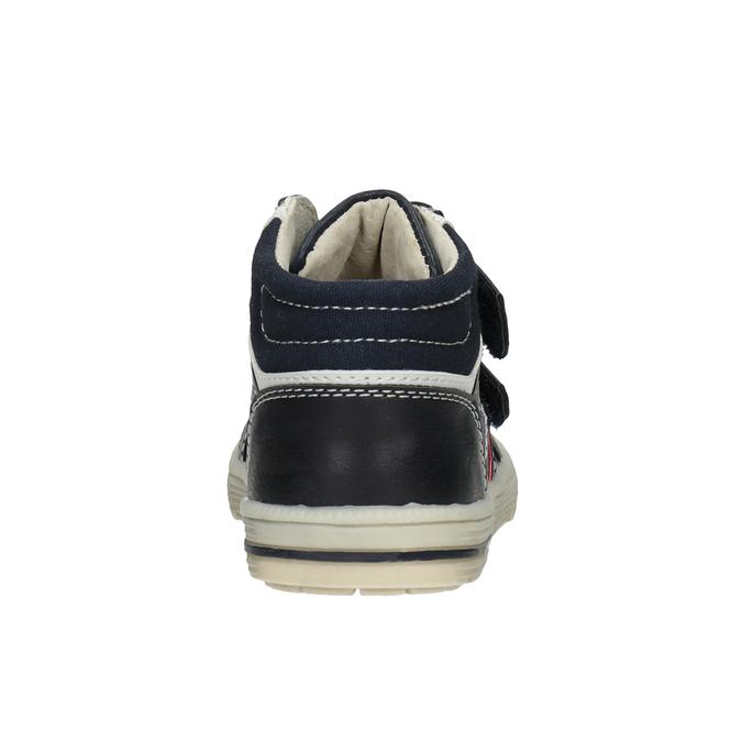 Kotníčková dětská obuv bubblegummers, modrá, 111-9613 - 16