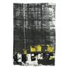 Dámský šátek se žíháním bata, černá, 909-6628 - 26