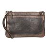 Dámské kožené metalické psaníčko bata, hnědá, 964-4141 - 17