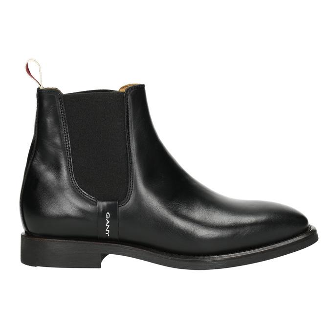 Dámská obuv v Chelsea stylu gant, černá, 514-6077 - 15