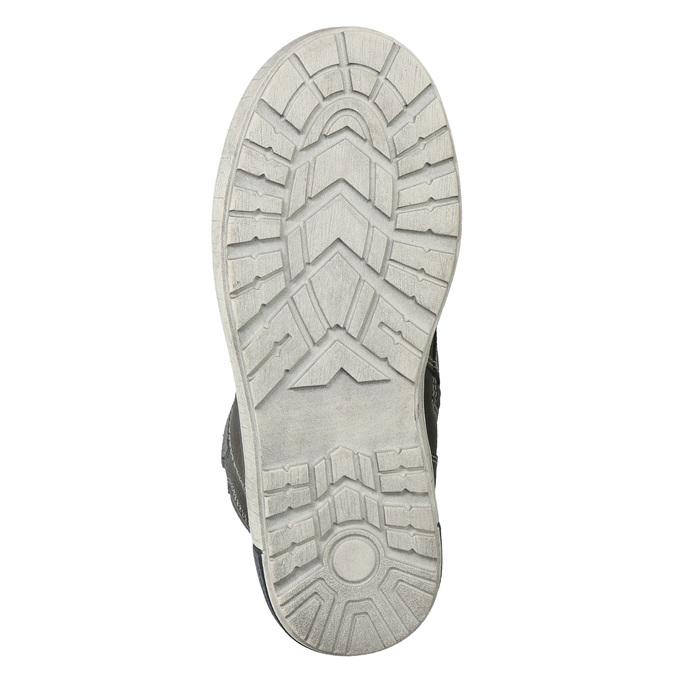 Kotníčková dětská obuv mini-b, šedá, 494-2655 - 19