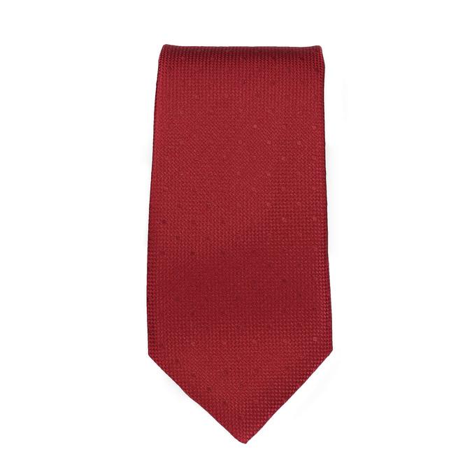 Červená sada kravaty a kapesníčku n-ties, červená, 999-5290 - 26