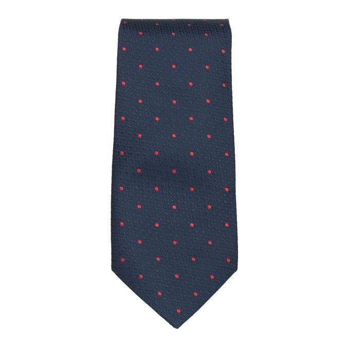 Sada kravaty, kapesníčku a manžetových knoflíčků n-ties, modrá, 999-9298 - 26